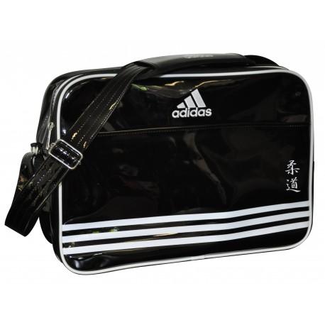 3cd67b9046 Sac de sport Adidas Bandoulière Noir et Blanc, Sac judo garantie 1 an