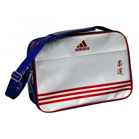 sac judo adidas bandouli re bleu blanc et rouge sac sports de combat. Black Bedroom Furniture Sets. Home Design Ideas