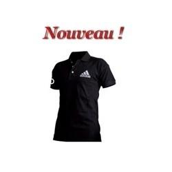 "T-shirt Polo Adidas ""Performance"" noir"