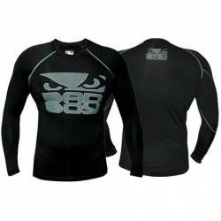 Rashguard Bad Boy BB Rash Engage Noir