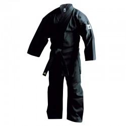 Kimono de karate noir bushido K220B