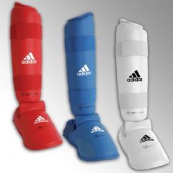 Protège-tibia et pied Karaté Adidas officiel WFK