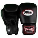 Gant de Boxe Twins Cuir Noir BGVL-3