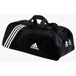 Sac de Judo Adidas Convertble 2 en 1 Noir et blanc
